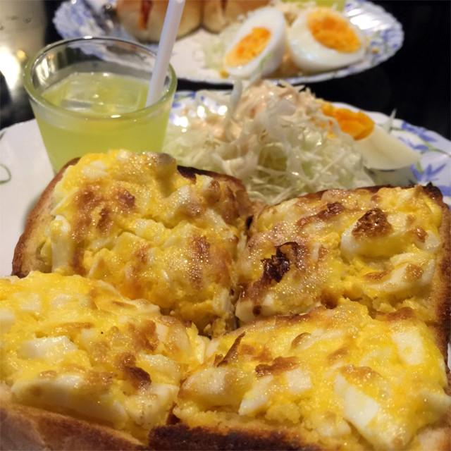玉子トーストセット
